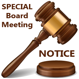 Image result for Special Board Meeting